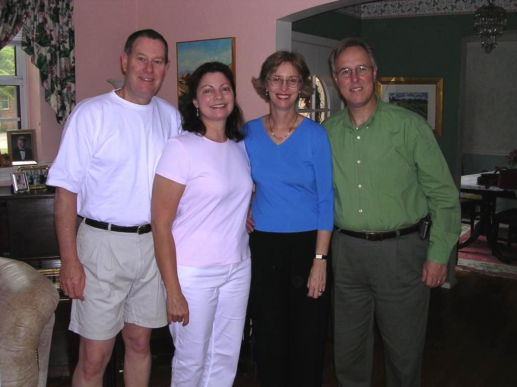 Paul & Karen Cronin, Olga and Tommy Bayer