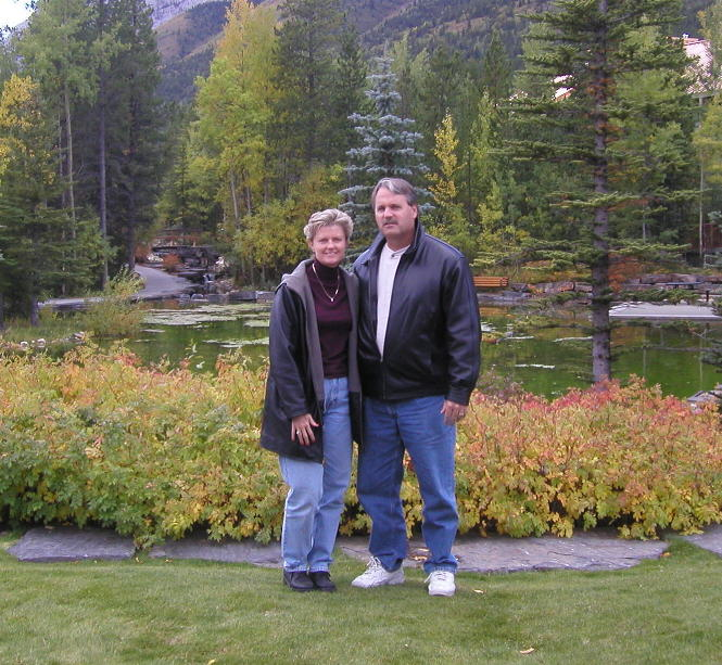 Peggy & Dave Dukelow in the Rockies