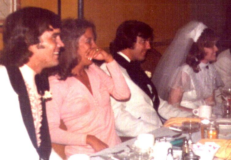 Evans' Wedding Reception