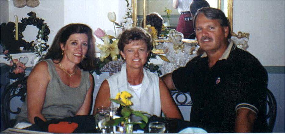 Kathy B, Peggy & Dave